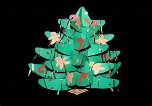Weihnachtsbäume Aus Papier Basteln : weihnachtsbaum aus papier basteln anleitung und schablonen ~ Orissabook.com Haus und Dekorationen