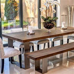 Modena, Dining, Table, -, Solid, European, Oak