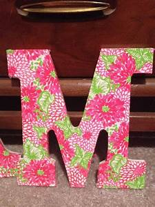 1000 images about letter quotmquotmemyself on pinterest With lilly pulitzer letters