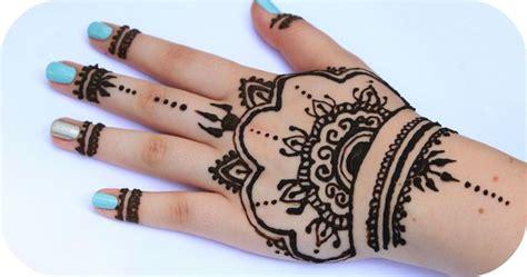 leichtes henna design muster f 252 r anf 228 nger ich zeige euch ganz schnelle designs die ihr ganz