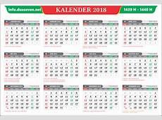 KAOSKUKI Kalender 2018 Indonesia Lengkap
