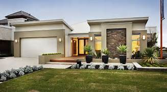 Minimalist One Storey House With Modern Art Collection With Modern Single Storey House Plans Fantastic Home Decor