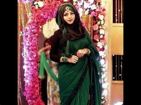 hijab style  saree indianpakistanibangladeshi