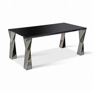 Pieds De Table : pieds de table inox ~ Teatrodelosmanantiales.com Idées de Décoration