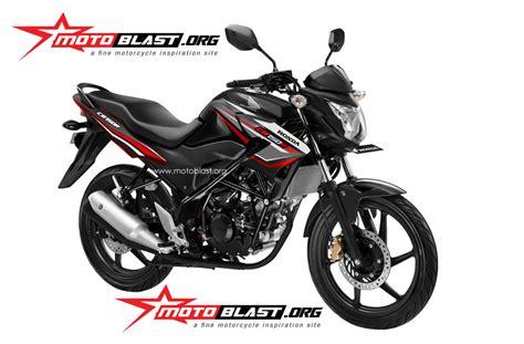 Modif Striping New Cb150r Hitam Merah by Modif Striping Honda Cb150r Terbaru 2014 Motoblast