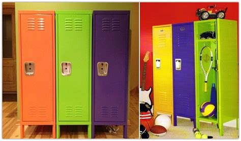 locker for bedroom 10 ideas to use lockers as room storage kidsomania 12146