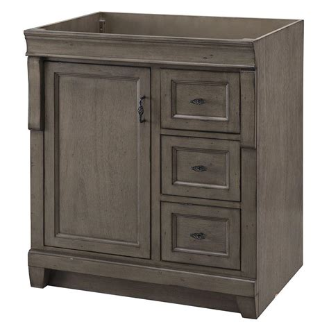 Vanity Cabinet Only by Home Decorators Collection Naples 30 In W Vanity Cabinet