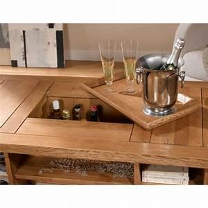 meubles de rangement salon 6 table basse rustique avec With meuble salle À manger avec table basse de salon