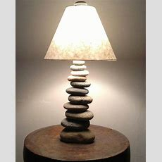 Cool Lamp Made Of Stones Found In Nh  Reclaimed To