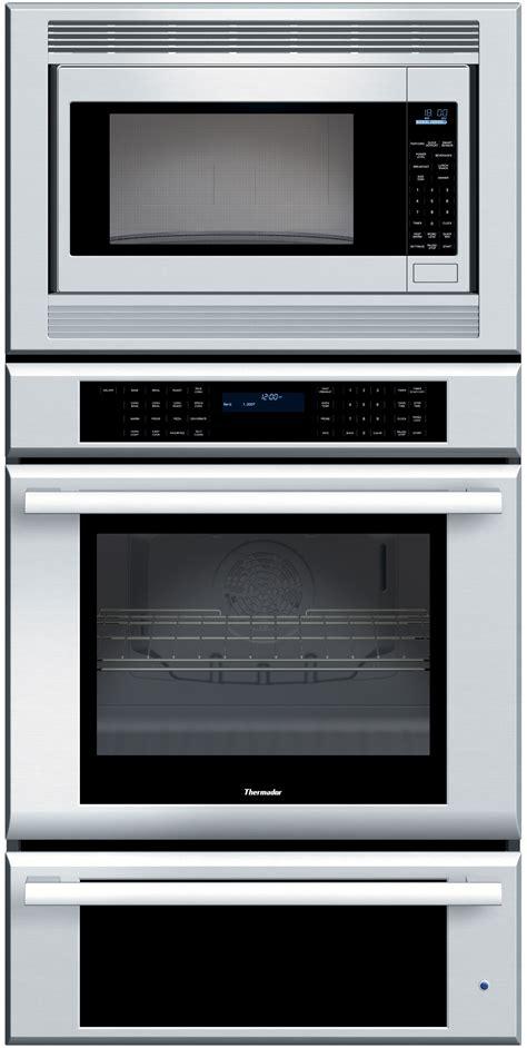 thermador memweb   triple combination wall oven