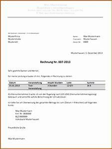 Zervant Rechnung : 17 kleingewerbe rechnungen schreiben vorlagen123 ~ Themetempest.com Abrechnung