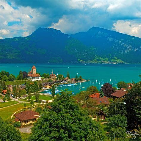 Spiez Schloss Spiez Switzerland Mickey Shannon