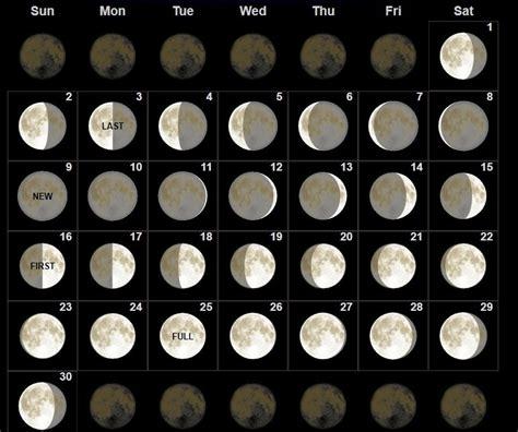 moon phases september  calendar  calendars