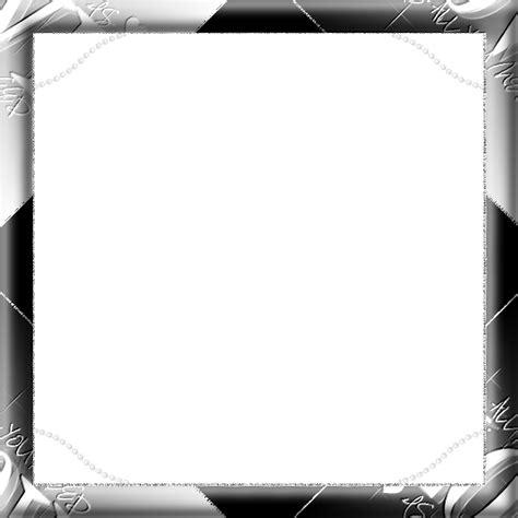 cadre en noir et blanc