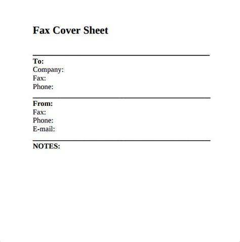 How To Make A Cover Sheet For Your Resume by Sle Fax Cover Sheet 8 Documents In Pdf Word