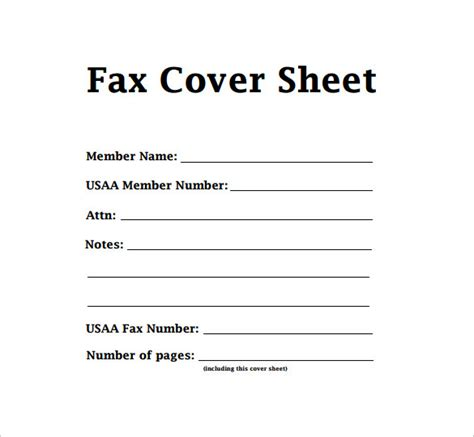 11688 standard fax cover sheet 7 sle modern fax cover sheets sle templates
