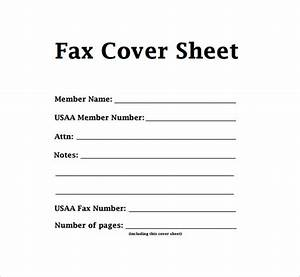 fax cover letter pdf sample fax cover sheet template With cover letter for faxing documents