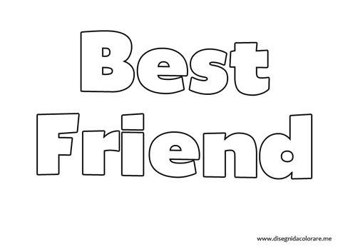 disegni da colorare migliori amiche disegni di migliori amiche migliori pagine da colorare