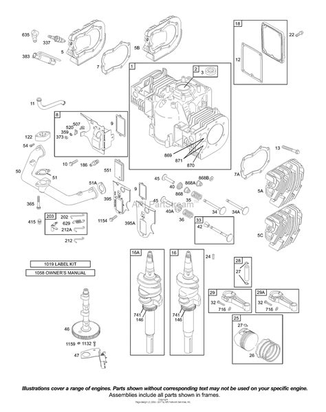 Briggs Stratton Parts Diagram For Cam
