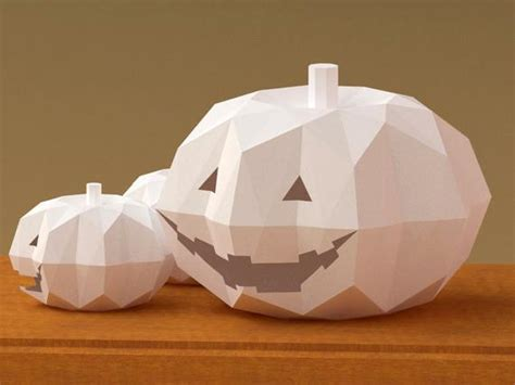items similar  halloween jack  lantern  paper model