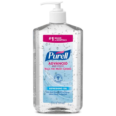 Amazon.com : PURELL Advanced Instant Hand Sanitizer, 2