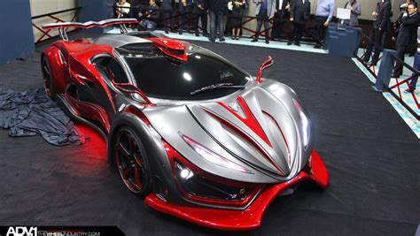 supercar made from metal foam inferno exotic car adv
