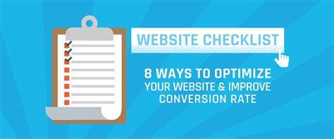Ways Optimize Your Website Improve Conversion Rates