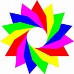 Clipart Triangles Triangle January Rainbow Transparent Clip