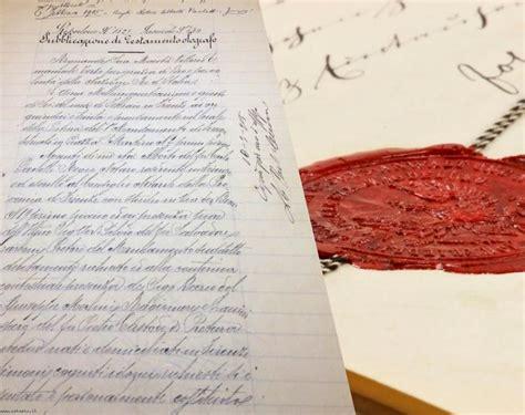 impugnazione testamento pubblico il testamento olografo l impugnazione per falsit 224 ius