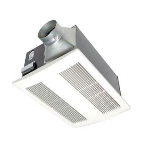 home depot bath fans panasonic whisperwarm 110 cfm ceiling exhaust bath fan