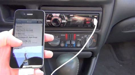 how to play from phone to car use iphone player via usb w car stereo noaccsplash