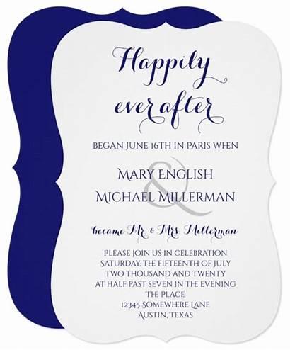 Invitations Reception Destination Invitation Happily Ever Modern