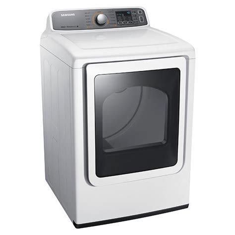 Samsung White Front Load Electric Dryer   DV48H7400EW/A2