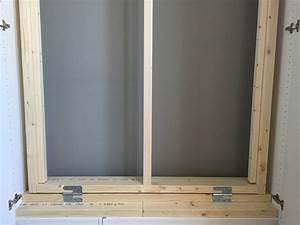 Lit Dans Armoire : lit escamotable ikea diy avec une armoire pax bidouilles ~ Premium-room.com Idées de Décoration