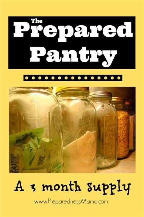 prepared pantry  month food supply preparednessmama
