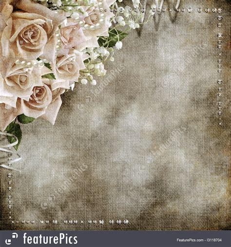 templates wedding vintage romantic background stock