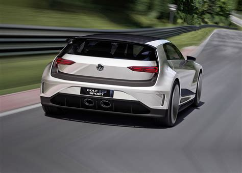 volkswagen gti sports car vw golf gte sport the outrageous carbon bodied 400bhp