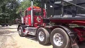 My New Truck-Dumping Gravel - YouTube