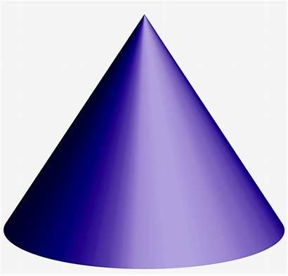 Cone 3d Shape Transparent Purple Seekpng