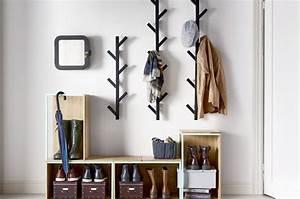 Porte Manteau Mural Moderne : 15 attaccapanni di design perfetti per ogni stanza casafacile ~ Teatrodelosmanantiales.com Idées de Décoration