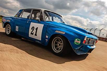 Rover P6 Racing Cars Race V8 Modified