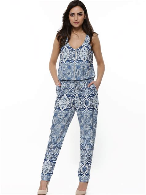 printed jumpsuits buy only printed jumpsuit for 39 s cloud dancer