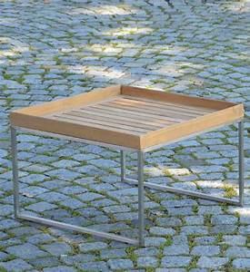 Beistelltisch Garten Holz : beistelltisch garten teak 60x60 cm im greenbop online shop kaufen ~ Indierocktalk.com Haus und Dekorationen