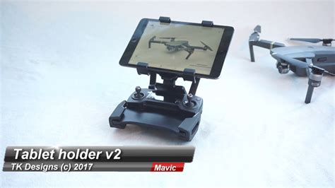 dji mavic ipad tablet holder  youtube