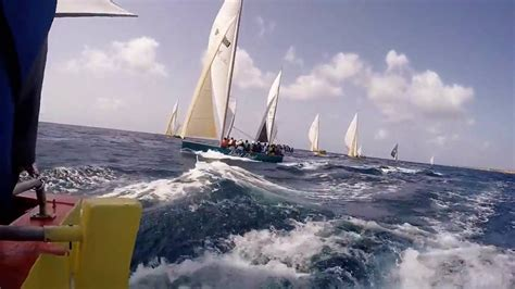 Sailing Boat Competition by Sailing Boat Race Competition Anguilla Youtube