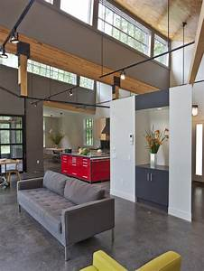 Ceiling Lights For Concrete Ceilings Suspended Track Lighting Houzz