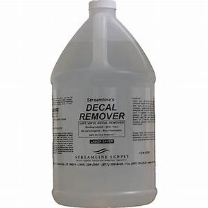 decal and vinyl remover streamline supply inc With vinyl lettering removal chemical