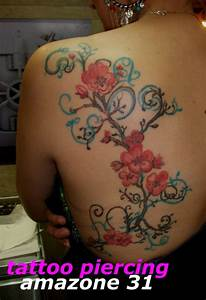 Tattoo Fleur De Cerisier : fleur de cerisier tatouage amazone ~ Melissatoandfro.com Idées de Décoration