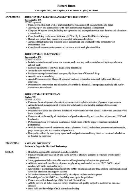 electrician resume    resume examples