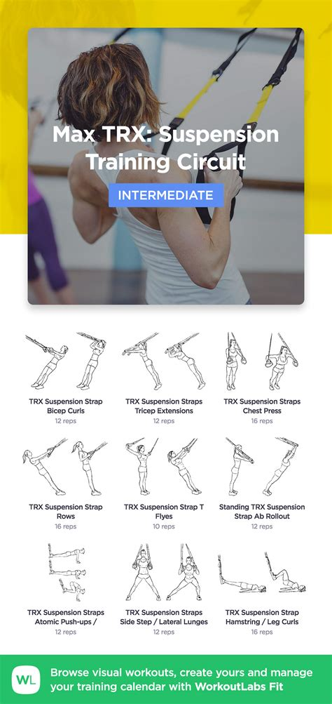 max trx suspension training circuit workoutlabs fit